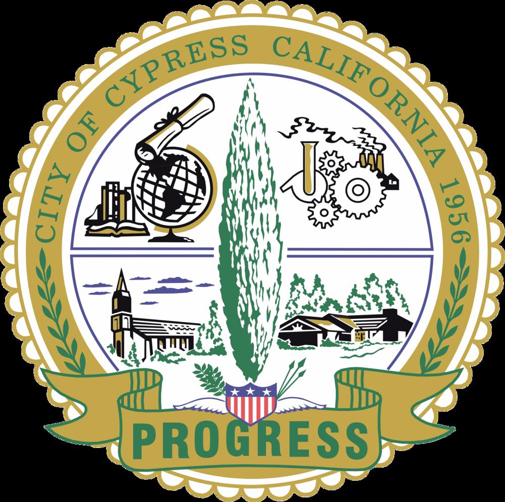 City of Cypress Seal