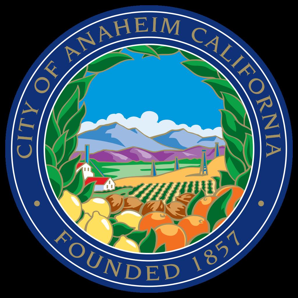 City of Anaheim Seal